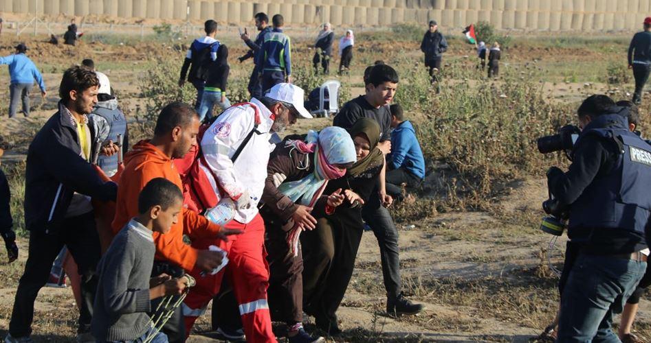 77 feriti durante Grande Marcia del Ritorno
