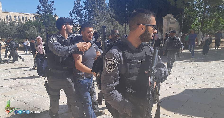 Gerusalemme, la polizia israeliana aggredisce le guardie di al-Aqsa