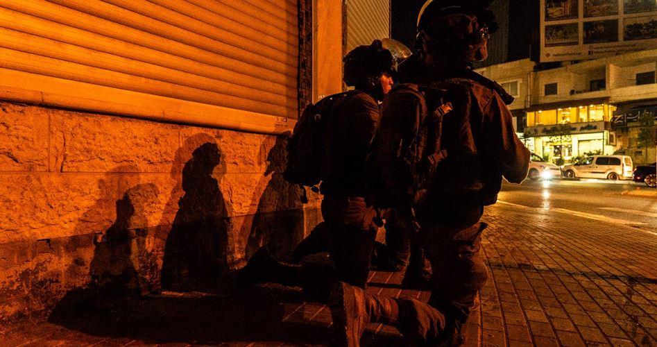 Le forze israeliane hanno invaso al-Isawiya