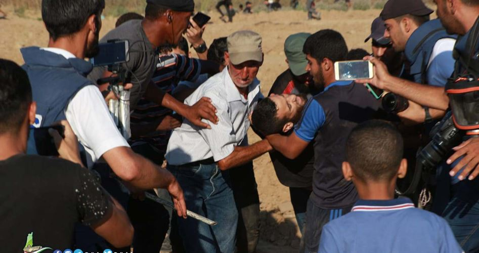 Striscia di Gaza, Grande Marcia del Ritorno: 1 Palestinese ucciso e 54 feriti