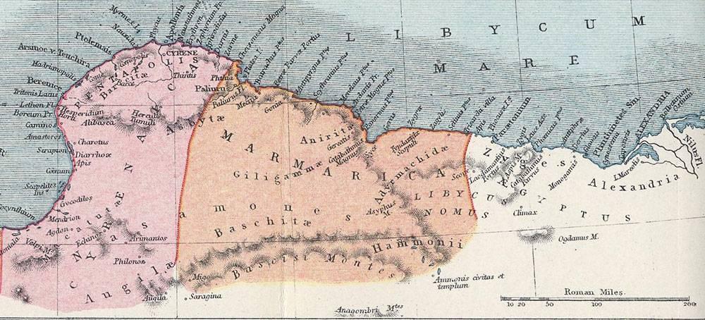 La carenza d'acqua fece fallire il piano sionista di creare una patria ebraica in Libia