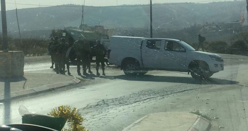 Palestinese ferito da IOF a vicino Jenin