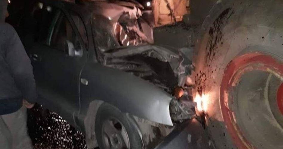 Bulldozer israeliano si schianta contro auto palestinese: un morto e un ferito