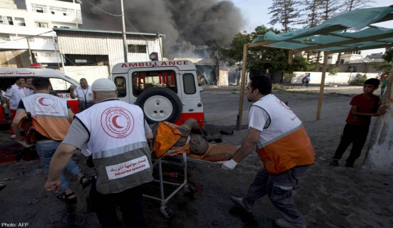 Bombardamenti israeliani contro la Striscia di Gaza: 10 vittime e decine di feriti