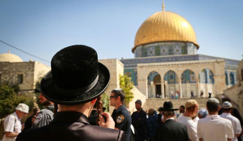 L'Ufficio per le Questioni Gerosolimitane: durante lo scorso ottobre 6340 Israeliani   hanno invaso al-Aqsa