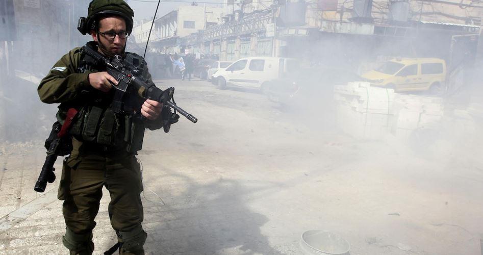 Decine di giornalisti asfissiati dalle forze israeliane a Hebron