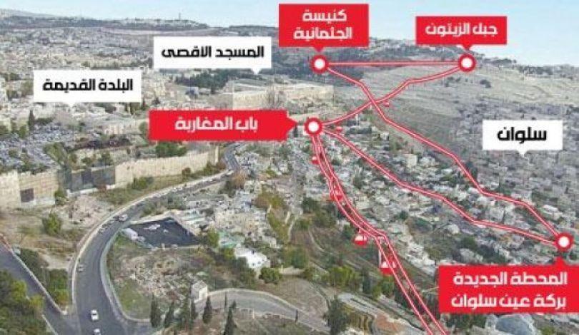 L'occupazione approva l'installazione di una funivia adiacente ad Al-Aqsa