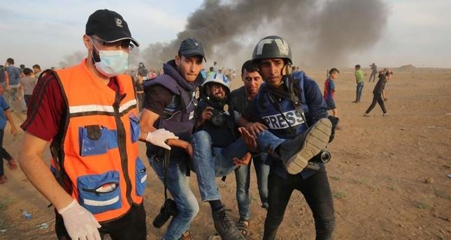 Durante il 2019 Israele ha commesso 600 violazioni ai danni dei giornalisti palestinesi