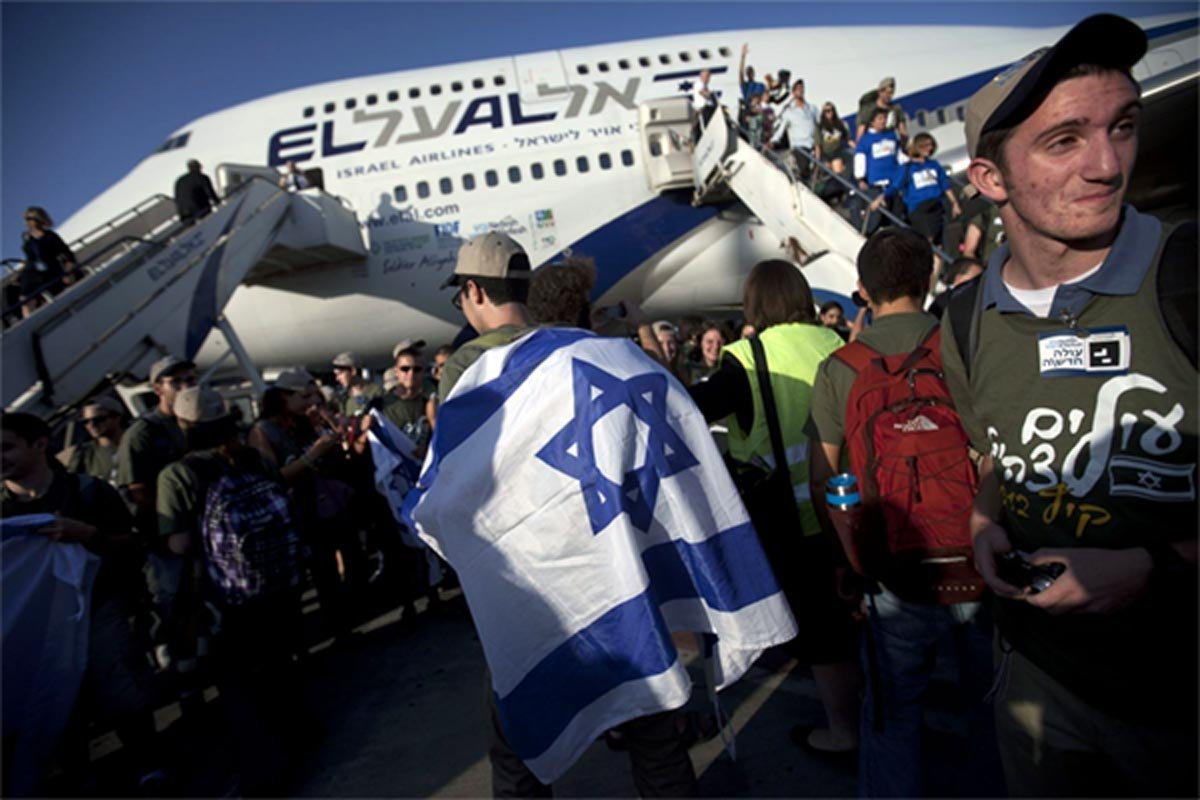 Migliaia di immigranti dell'ex-URSS in Israele solo per passaporto
