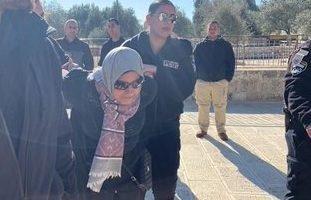Quattro donne palestinesi arrestate ad al-Aqsa