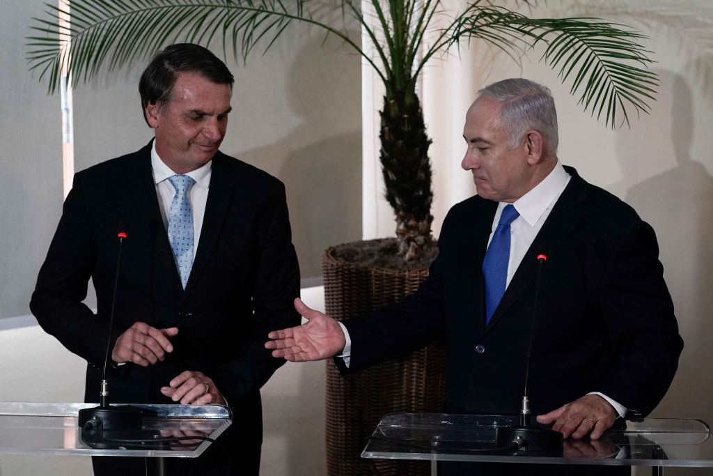 Brasile aprirà missione commerciale a Gerusalemme