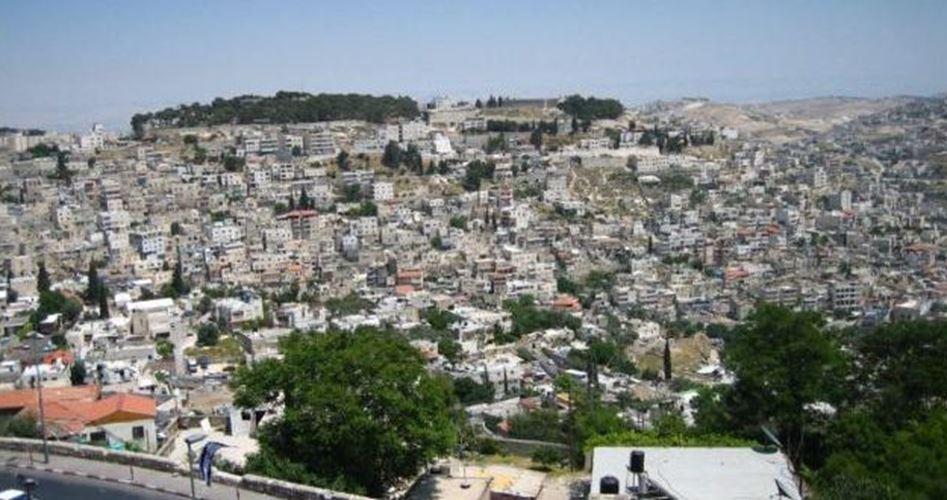 Silwan (Gerusalemme Est) minacciata di demolizioni di massa