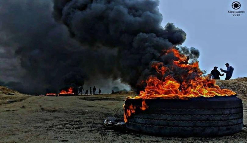 Striscia di Gaza, Grande Marcia del Ritorno, 45 feriti dalle forze israeliane