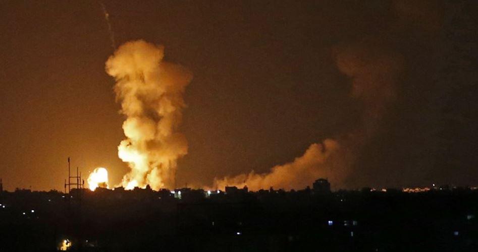 Nuovo bombardamento aereo israeliano contro la Striscia di Gaza