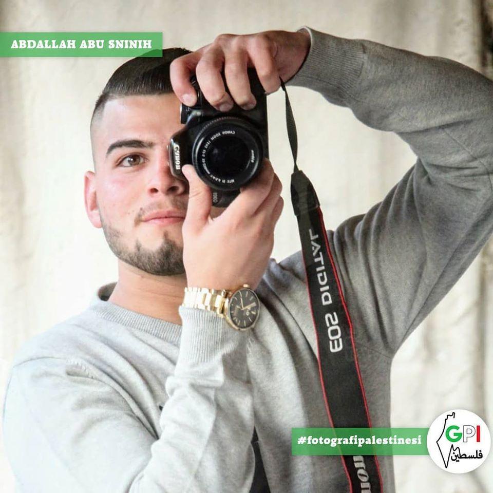 Abdallah, 18 anni, fotografo di Gerusalemme