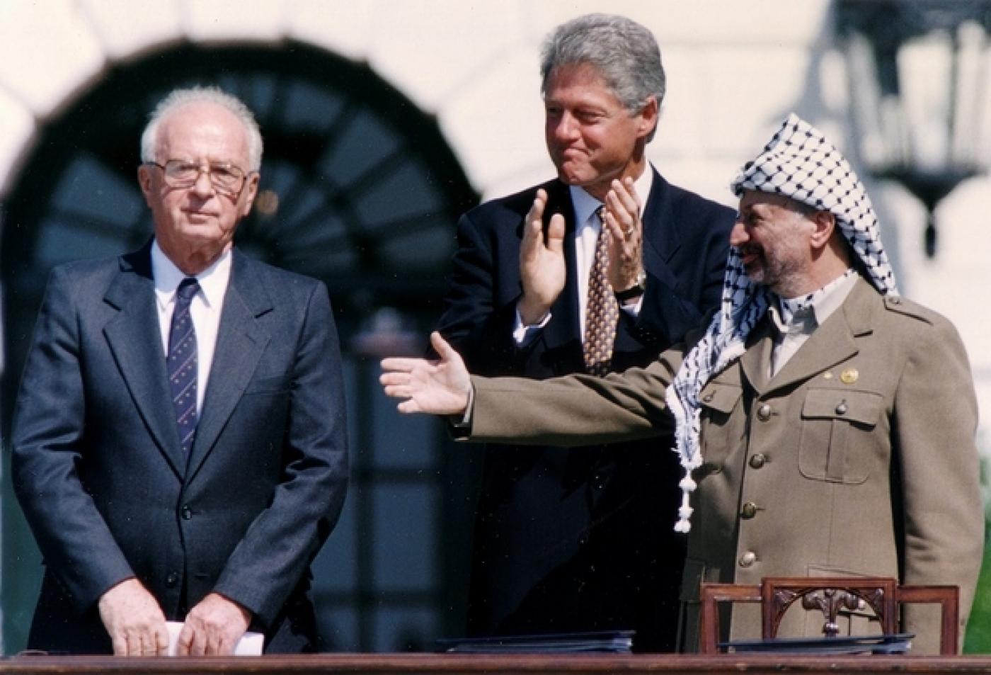 Un quarto di secolo da Oslo,il gioco è finito per i Palestinesi