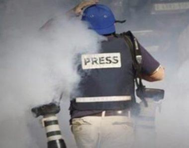 557 violazioni israeliane contro i giornalisti palestinesi