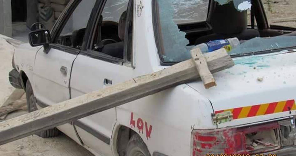 Coloni lanciano pietre contro veicoli, diversi palestinesi feriti