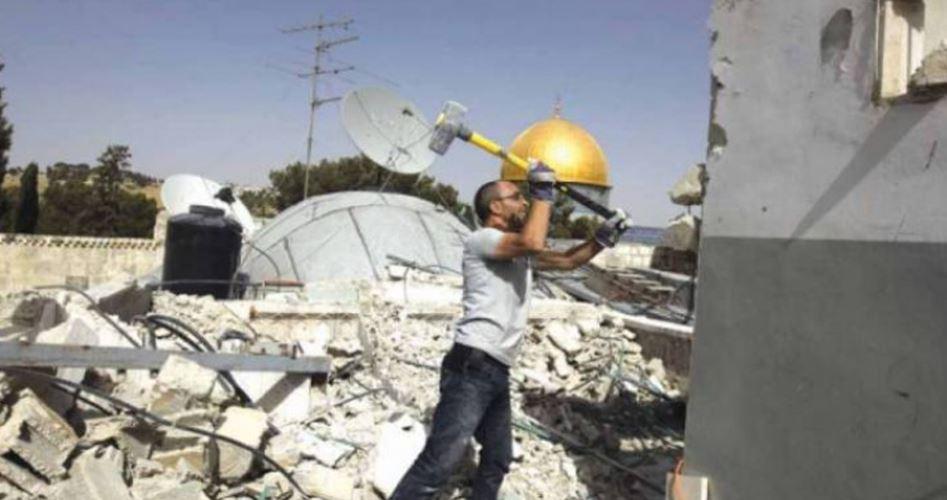 Israele obbliga palestinesi di Gerusalemme a demolire le proprie case