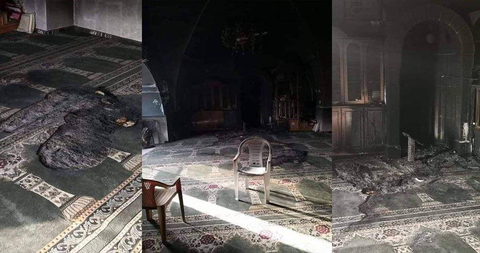Coloni danno fuoco ad una moschea a Gerusalemme