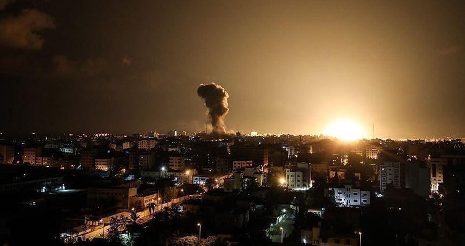 Aerei da guerra israeliani attaccano il sud di Gaza