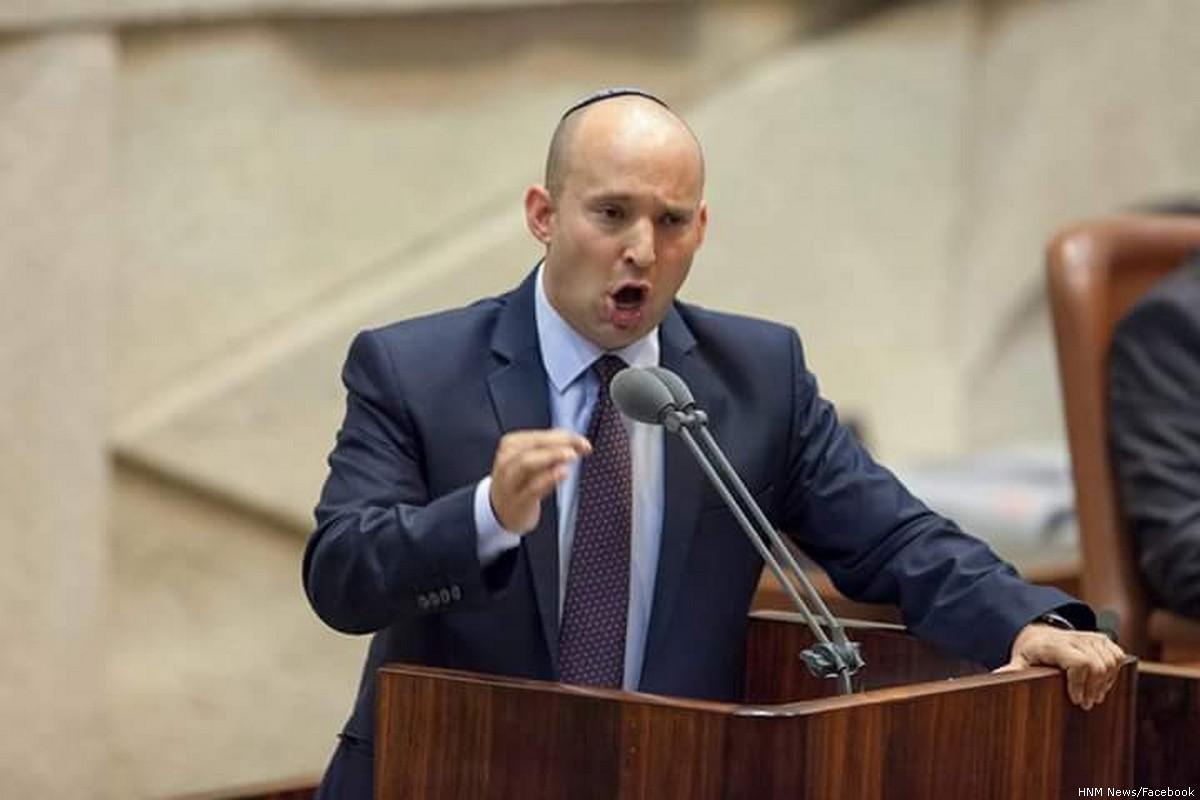 """Ministro israeliano: """"Non daremo un solo centimetro di terre israeliane agli arabi"""""""