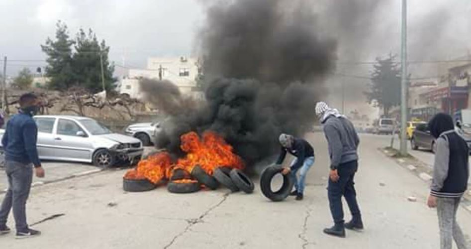 """IOF aggrediscono studenti palestinesi durante manifestazione contro """"Accordo del secolo"""""""