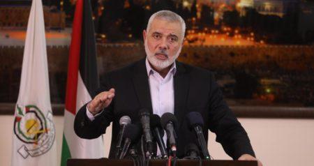 """Haniyah chiede riunione al Cairo per affrontare """"accordo del secolo"""""""