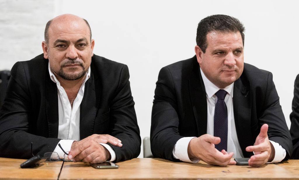 """Joint List: Accordo del Secolo è un """"piano di trasferimento"""""""