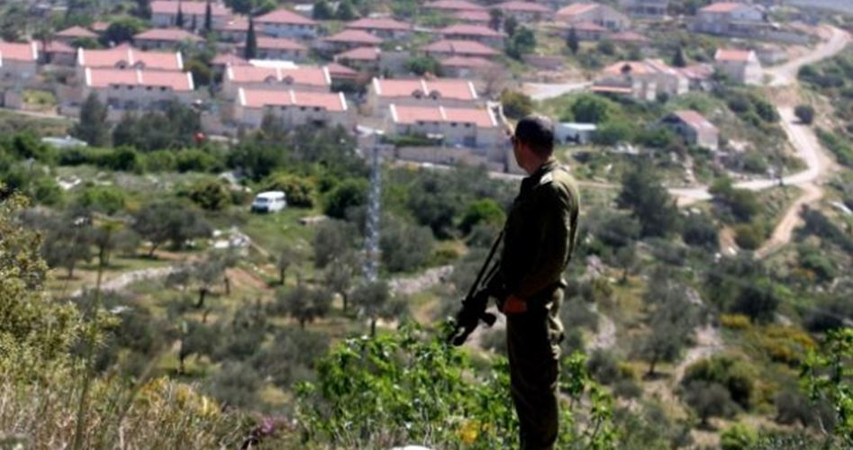 L'esercito di occupazione sottrae vasti appezzamenti di terra nel sud di Nablus