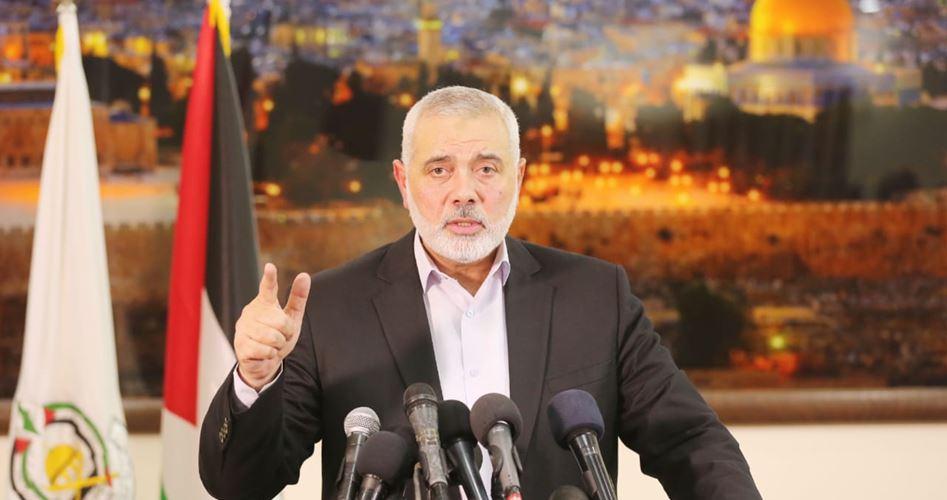 Haniyah: rifiutiamo l'Accordo del Secolo e i progetti contro i diritti palestinesi
