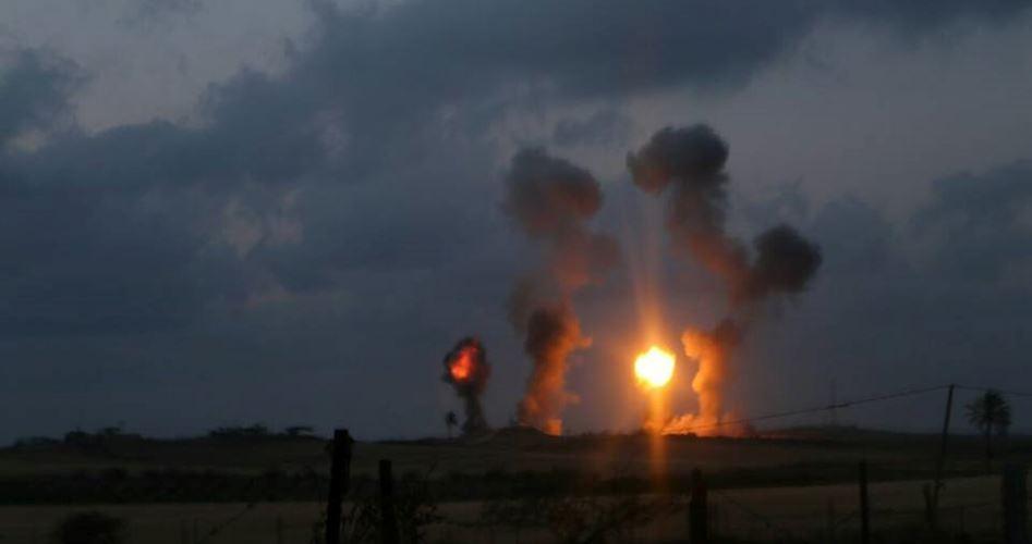 Nuovo bombardamento aereo israeliano sulla Striscia di Gaza