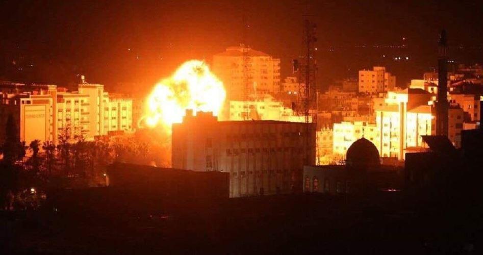 Bombardamenti aerei israeliani contro il sud della Striscia di Gaza