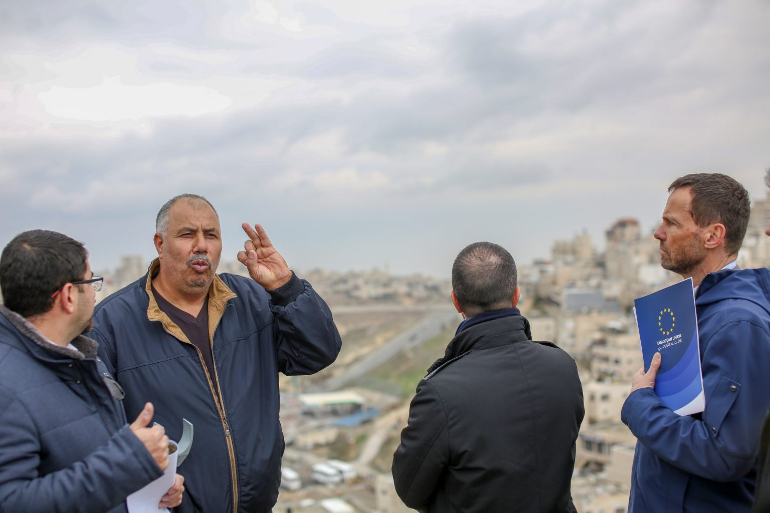 Delegazione UE visita Gerusalemme e Ramallah