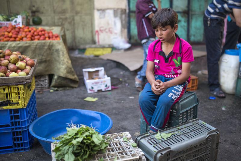 Perché il lavoro minorile è comune a Gaza