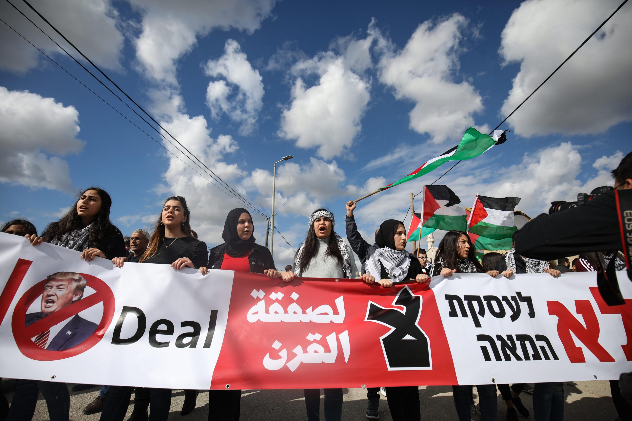 """ANP: Israele si sta vendicando della Palestina per il suo rifiuto del """"Accordo del Secolo"""""""
