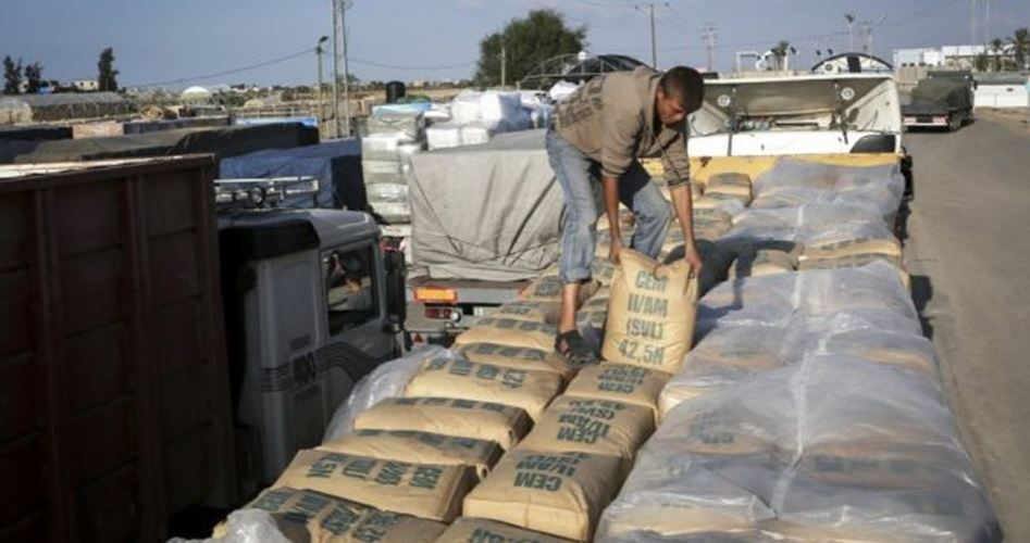 Israele sospende entrata di cemento a Gaza