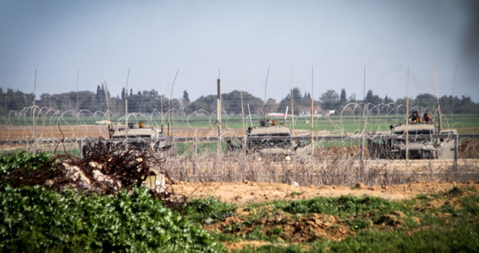 IOF arrestano gazawi al confine tra Gaza ed Israele