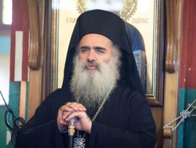 """Arcivescovo Hanna: """"Esortiamo tutte le chiese a rifiutare 'Accordo del Secolo'"""""""