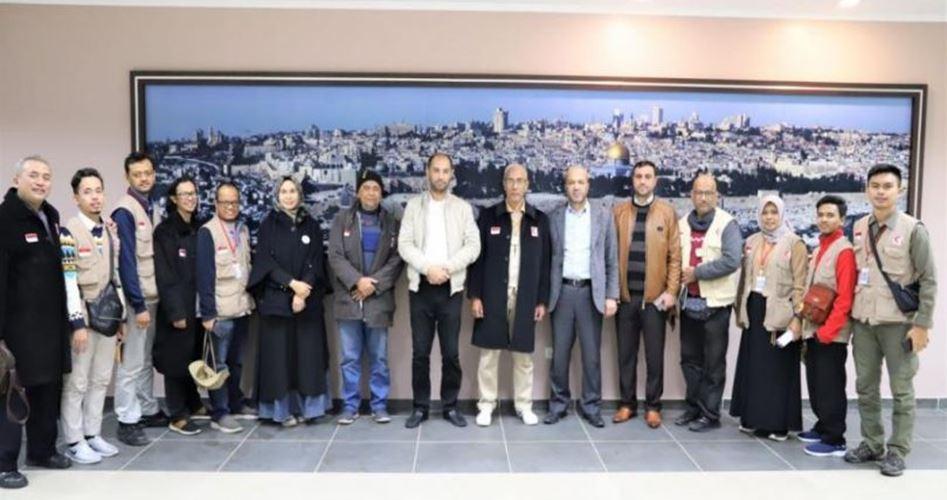 Delegazione del MER-C arriva a Gaza per progetto di espansione di ospedale
