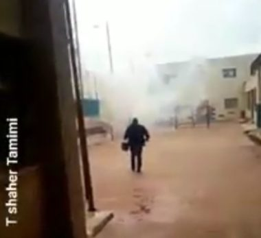 Ramallah, neonata palestinese tra gli intossicati dai gas lacrimogeni
