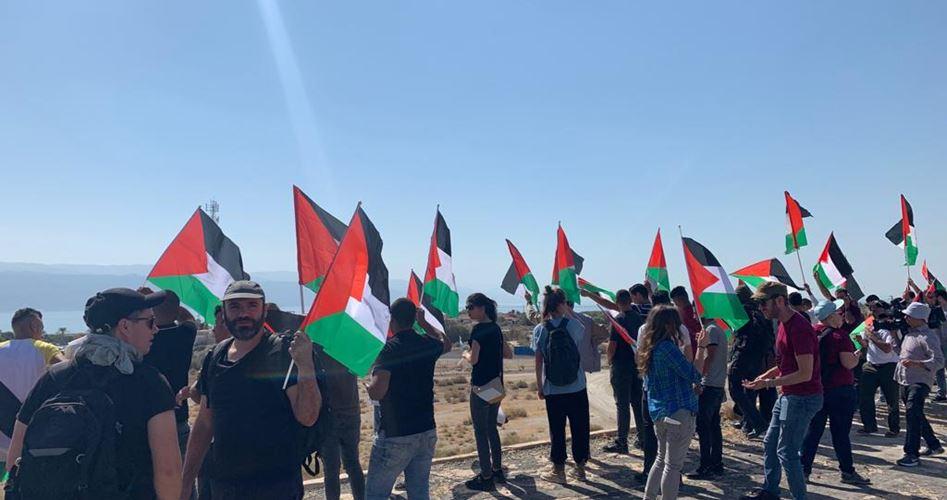 Tre palestinesi feriti dalle IOF durante manifestazione nella Valle del Giordano