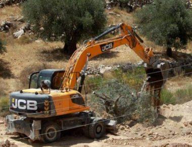 Israele spiana terre palestinesi per costruire strada per coloni