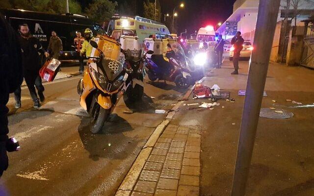 Gerusalemme, 12 soldati israeliani feriti in un attacco automobilistico