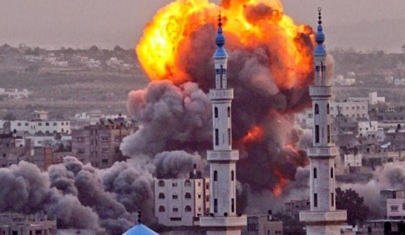 Nuovo bombardamento israeliano contro la Striscia di Gaza
