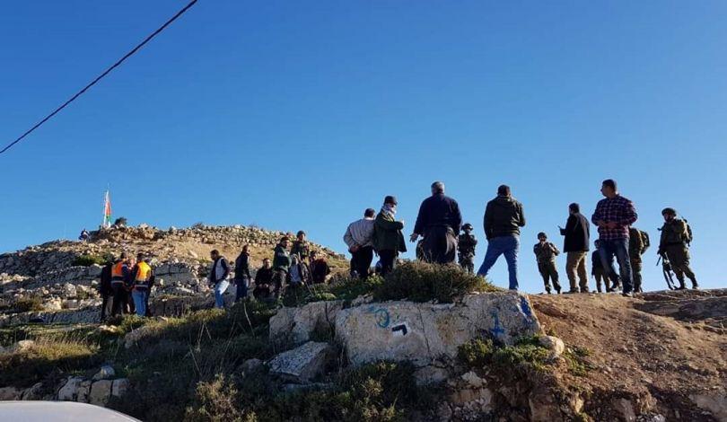 Le forze di occupazione feriscono 40 palestinesi vicino a Nablus
