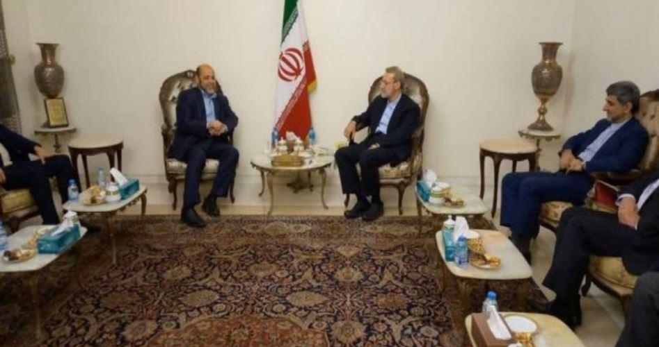 Delegazione di Hamas incontra presidente parlamento iraniano