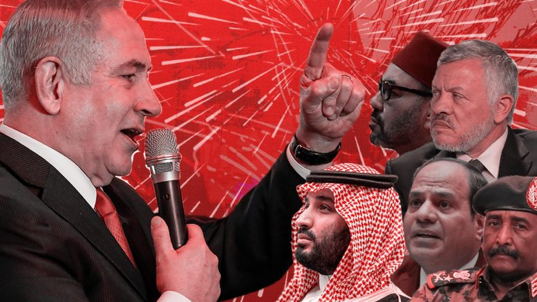 Governanti arabi e leader israeliani: una lunga e segreta storia di collaborazione