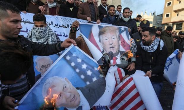 L'accordo 'di pace' di Trump calpesta palesemente i diritti e le libertà dei palestinesi