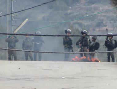 Diversi feriti e asfissiati in manifestazioni anti-occupazione nel distretto di Ramallah